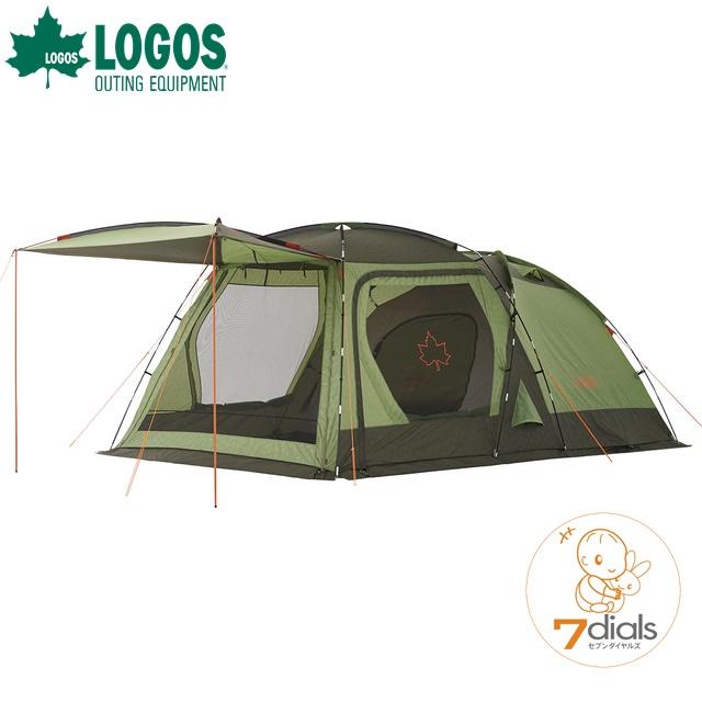 2019年版 LOGOS/ロゴス neos PANELスクリーンドゥーブル XL-AI キャンプテント 大型 2ルームテント ツールームテント キャンプ アウトドア【あす楽】【送料無料】