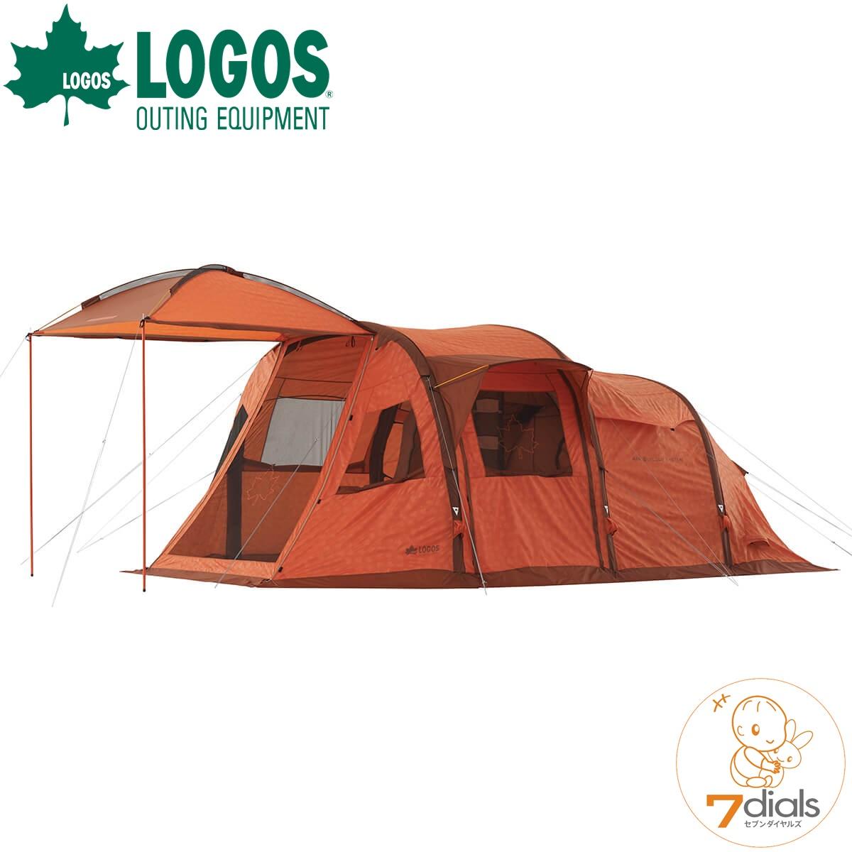 LOGOS/ロゴス エアマジックPANELドーム L-AH 2ルームテント付属のポンプで3か所に入れるだけ あっというまに2ルームテントが完成 ツールームテント【あす楽_土曜営業】【送料無料】