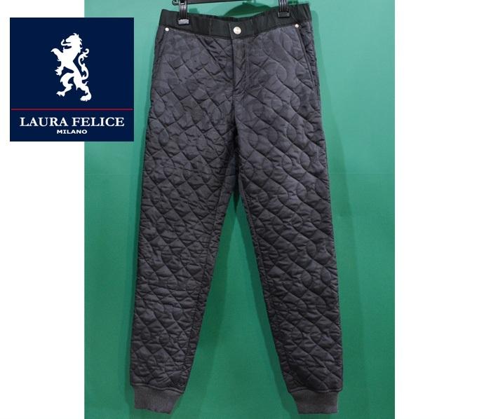 ラウラフェリーチェ 35%OFFセール パンツ 暖か 裏起毛 メンズ服 日本製 秋冬 129-2009