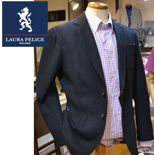 ラウラフェリーチェ メンズ ジャケット セール35%OFF 春夏 紺ネイビー 130-1004 Mサイズ