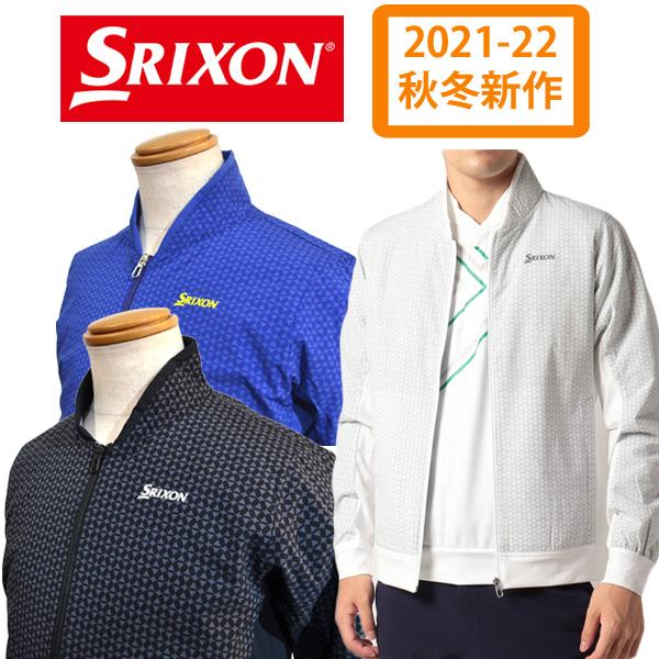 プラス5度のヒートナビで温かいスリクソンのメンズ向け中綿ジャケット 【2021-22秋冬】 スリクソン メンズ アウター ブルゾン はっ水 保温 ストレッチ 中わた 黒 白 青 ゴルフウェア RGMQJK04 ブランド SRIXON 3Lサイズ対応