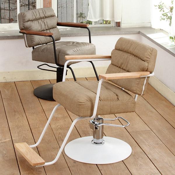 スタイリングチェアoslo 全2色 [ スタイリングチェア チェア 椅子 イス セットチェア セット椅子 セットイス カットチェア カット椅子 カットイス 美容室椅子 美容室 美容師 開業 ][ R-2-2-1 ][ 7エステ ]