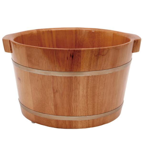 足浴桶 Mサイズ 取っ手付 (ビニールシート100枚付) [ 足浴器 足浴桶 足湯器 足湯桶 フットバス器 フットケア ][ E-2-5-2 ][ 7エステ ]