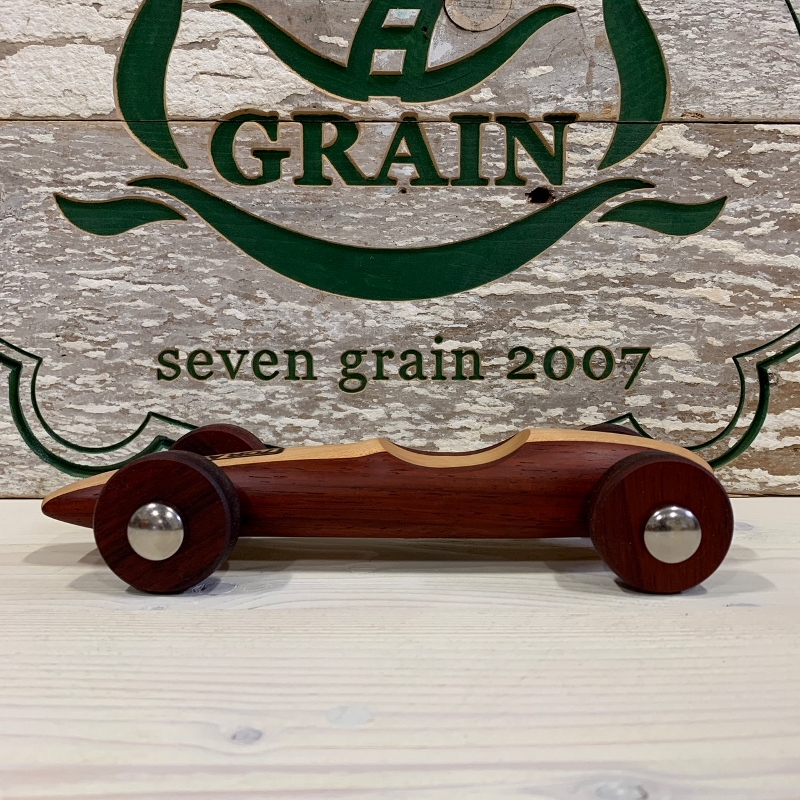 Vintage Wood Car 葉巻型S