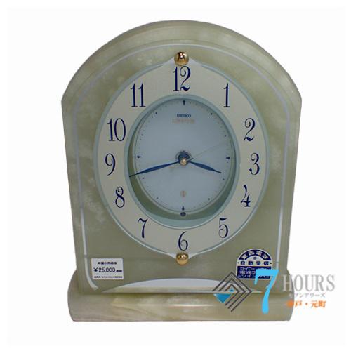 SEIKO(セイコー)HW514M セイコークロック エンブレム 電波時計 箱 説明書 保証書【未使用品】