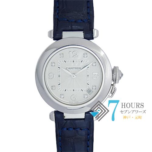 Cartier(カルティエ)2308 パシャ35 8Pダイヤ 美品 箱 保証書【中古】