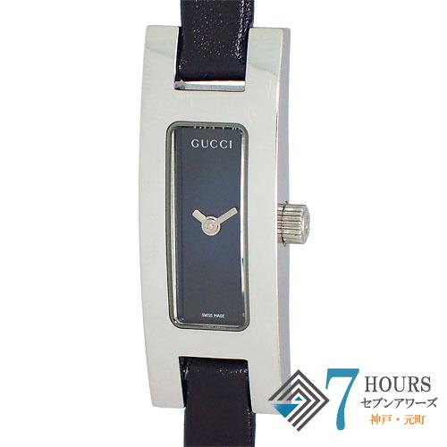 GUCCI(グッチ)3900L レディ―ス ブラックダイヤル クオーツ 保証書 箱【中古】