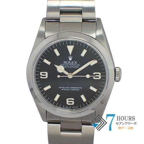 ROLEX(ロレックス)14270 エクスプローラー1 T番 トリチウムダイヤル 箱 保証書 美品【中古】
