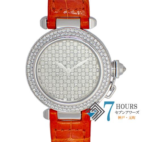 Cartier(カルティエ)パシャ32 ダイヤモンドダイヤル ベゼルダイヤ 自動巻き 保証書【中古】