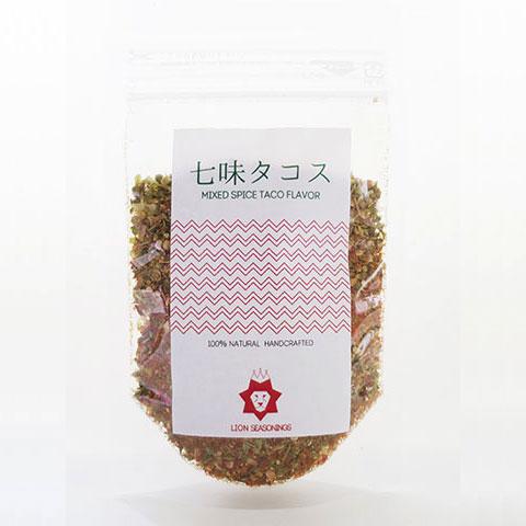送料188円!七味タコス LION SEASONINGS