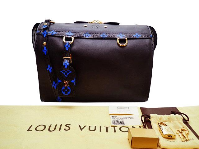 ルイ・ヴィトン モノグラム カラー アマゾンMM M42202 ノワール/ブルー 【中古】新品同様Sランク