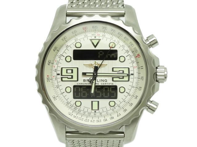 ブライトリング クロノスペース 銀 A78365 2010年 箱・保証書付【中古】