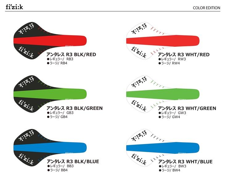 Fizik ANTARES R3 kium color edition (フィジーク アンタレス キウムレール カラーエディション)  レギュラー 2018
