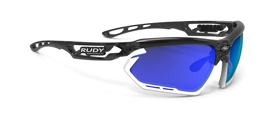 Rudy(ルディ) FOTONYK(フォトニック) クリスタルグラファイト/マルチレーザーブルーレンズ