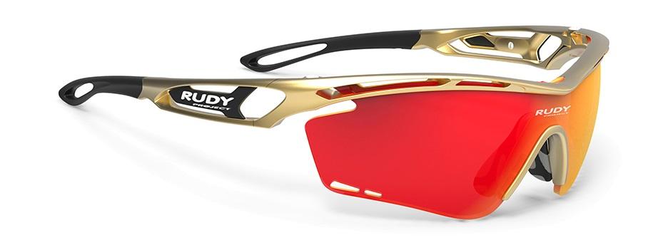 Rudy(ルディ) TRALYX(トラリクス) ゴールドフレーム マルチレーザーオレンジレンズ