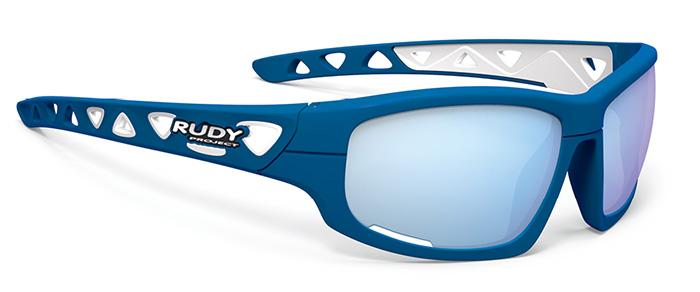 RUDYproject(ルディプロジェクト) AIRGRIP(エアグリップ) ブルーメタルマットフレーム/マルチレーザーアイスレンズ ニューモデル