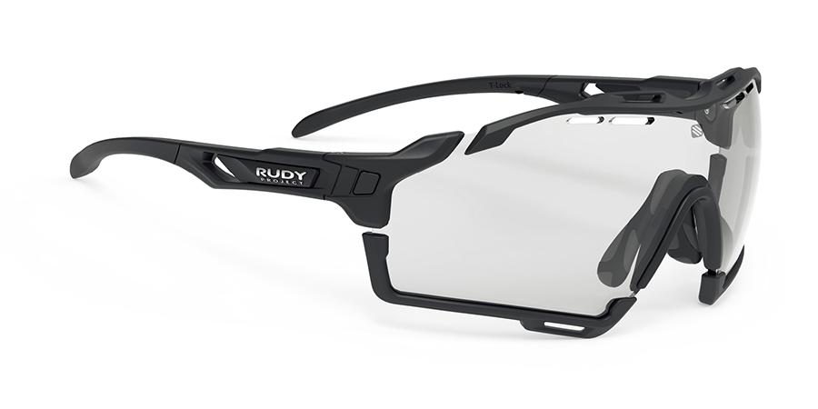 RUDYproject(ルディプロジェクト) CUTLINE カットライン マットブラックフレーム/インパクトX2調光ブラックレンズ サングラス