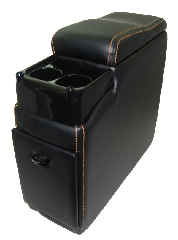≪エスティマ VOXY エルグランド≫ 座席間が19cm以上のお車用 激安格安割引情報満載 A-280 ブラック BOX お歳暮 コンソール ダックビル 送料無料 A-280