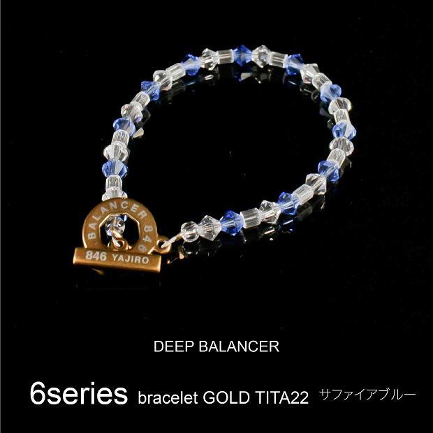 6シリーズ ブレスレット ブレスレット TITA22 サファイアブルー GOLD TITA22 Mサイズ Mサイズ, 瀬戸内町:62135436 --- officewill.xsrv.jp