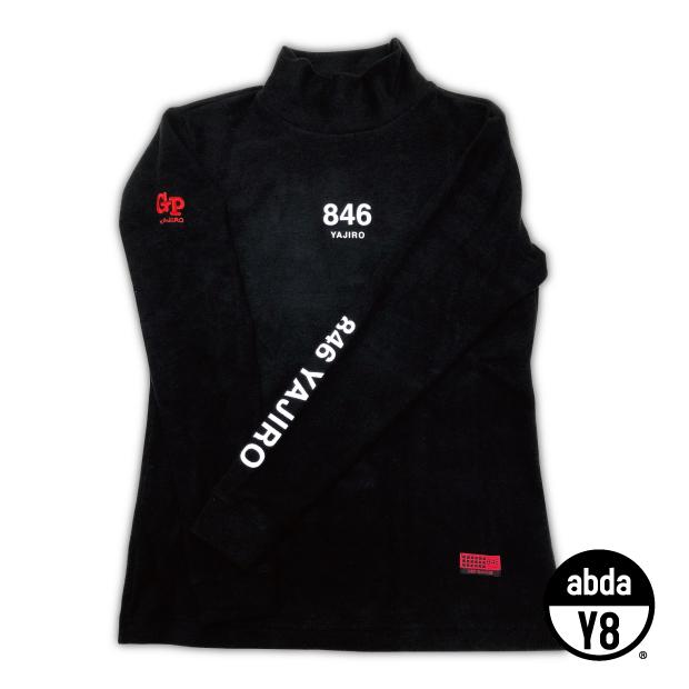 846 yajiro GP レディース ハイネック ロングスリーブ ブラック スポーツ ウェア 吸汗速乾 タートルネック レディース カジュアル タートルネック【送料無料】