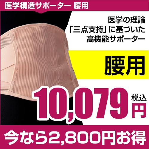 日本薬師堂 医学構造サポーター(腰用)