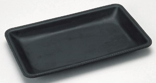 ネコポス便対応可能商品 高級感のあるレザー調カルトン 再入荷/予約販売! レザー調カルトン 黒 ブラック オープン工業 KN-51 支払いトレイ コイントレイ 定番から日本未入荷 ネコポス可 トレイ 支払い カルトン