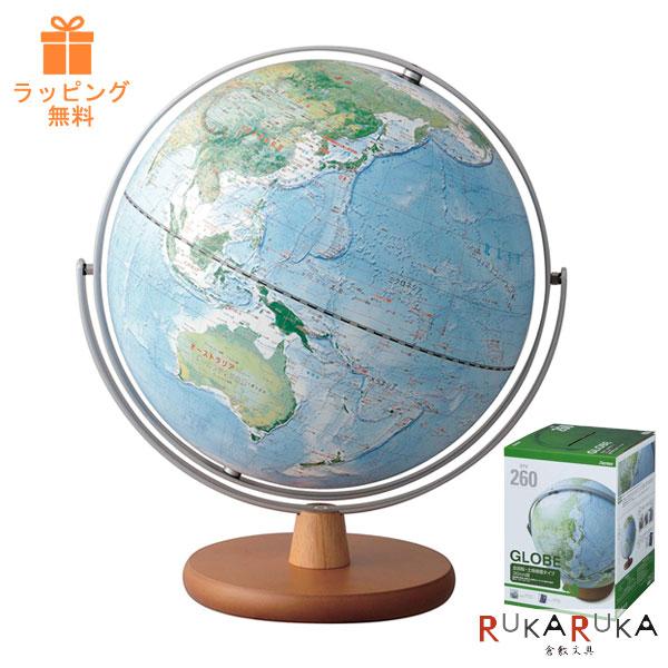 土地被覆タイプ地球儀(全回転) 球形30cm レイメイ藤井 OYV260