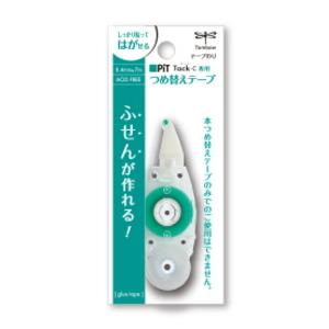 年間定番 ネコポス便対応可能商品 ピットタックC専用の詰め替えテープ テープのり詰替 トンボ鉛筆 ピットタックC36-PR-CK ネコポス便可 安心の実績 高価 買取 強化中