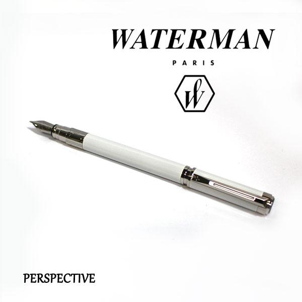 ■即納可能■ WATERMAN パースペクティブホワイトCT 万年筆 [細字/中字] ウォーターマン S2-236-14*-R