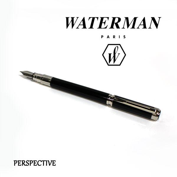 ■即納可能■ WATERMAN パースペクティブブラックCT 万年筆 [細字/中字] ウォーターマン S2-236-112/113-R