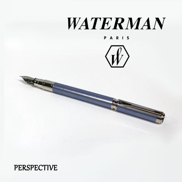 ■即納可能■ WATERMAN パースペクティブデコレーションブルーCT 万年筆 [細字/中字] ウォーターマン S2-236-132/133-R