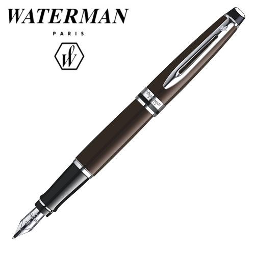 ■即納可能■ WATERMAN エキスパートエッセンシャル トディープブラウンCT 万年筆 [細字/F]ウォーターマン S2-243-132-R