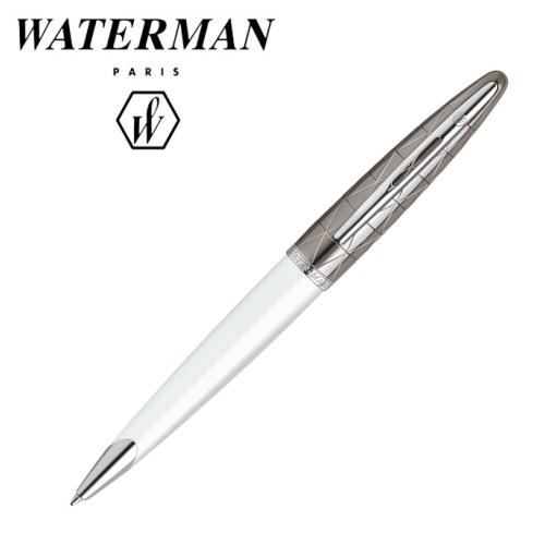 ■即納可能■ WATERMAN カレン デラックスコンテンポラリー ホワイトST ボールペンウォーターマン 458-S2-229-362-R