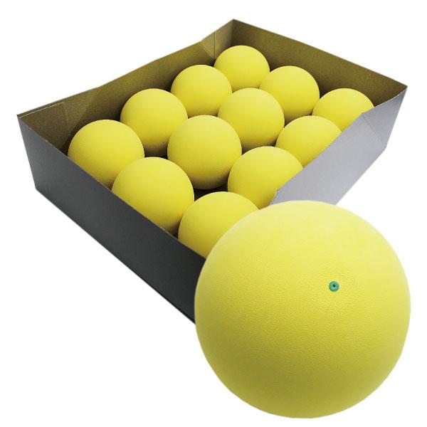 ブレの少ない高品質ボール 当店オリジナルボールにイエローが登場です ハイクオリティ軟式テニスボール練習球 イエロー <セール&特集> 1ダース ソフトテニスボール お得なキャンペーンを実施中 12個