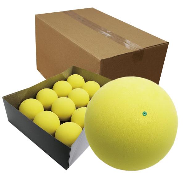 ブレの少ない高品質ボール 当店オリジナルボールにイエローが登場です ハイクオリティ軟式テニスボール練習球 イエロー ソフトテニスボール 並行輸入品 72個 与え 6ダース