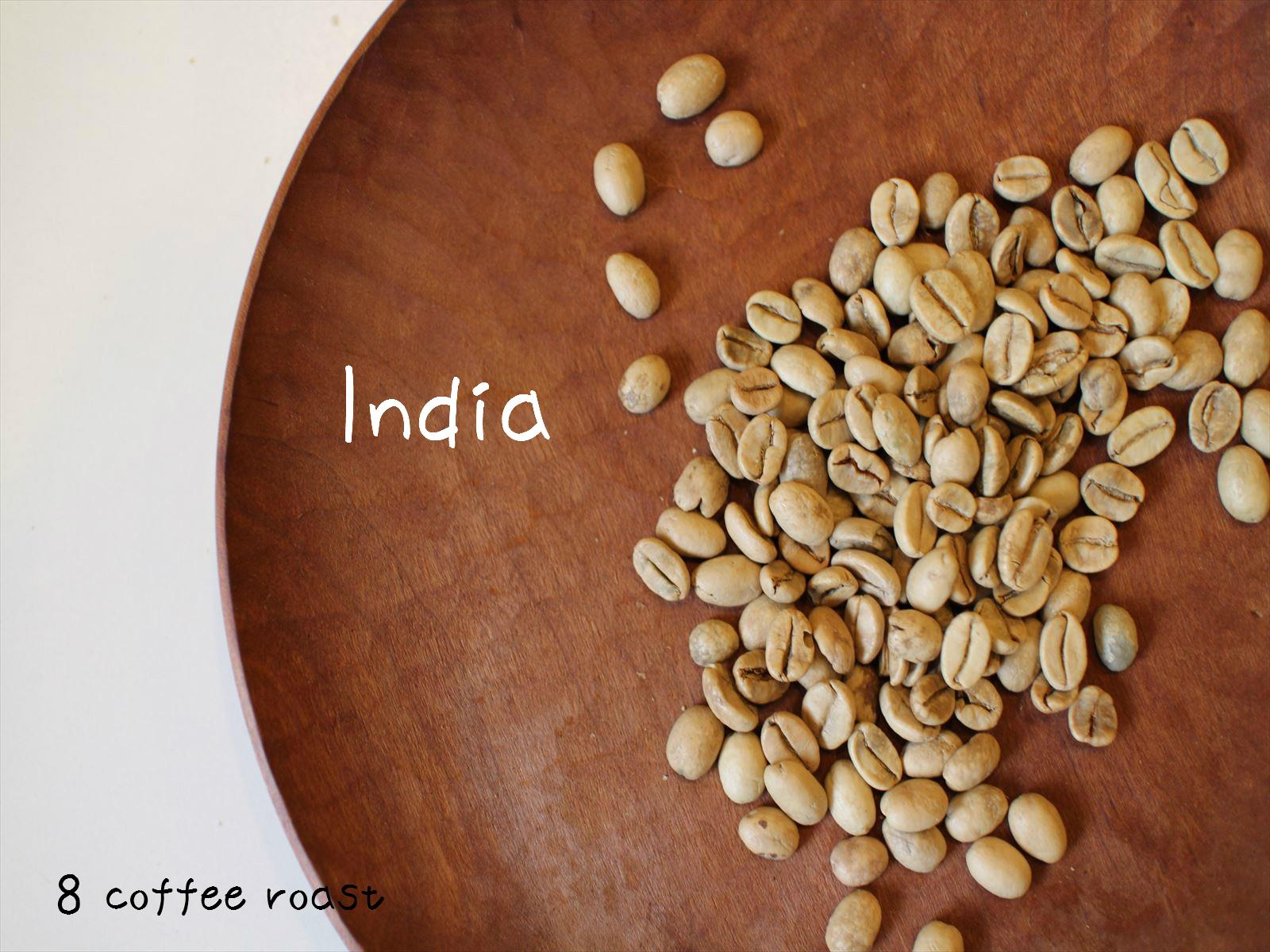 低廉 コーヒー生豆 信憑 インド モンスーン 内容量 50g