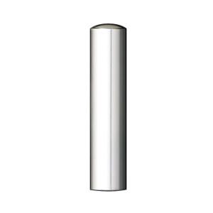 銀製印鑑 実印 16.5mm(印鑑/銀製印鑑//通販)