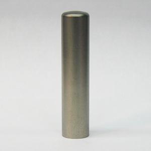 チタン 印鑑 ブラスト TITAN 13.5mm(印鑑/印材/Titan/チタン//通販)