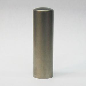 チタン 印鑑 ブラスト TITAN 18mm(印鑑/印材/Titan/チタン//通販)