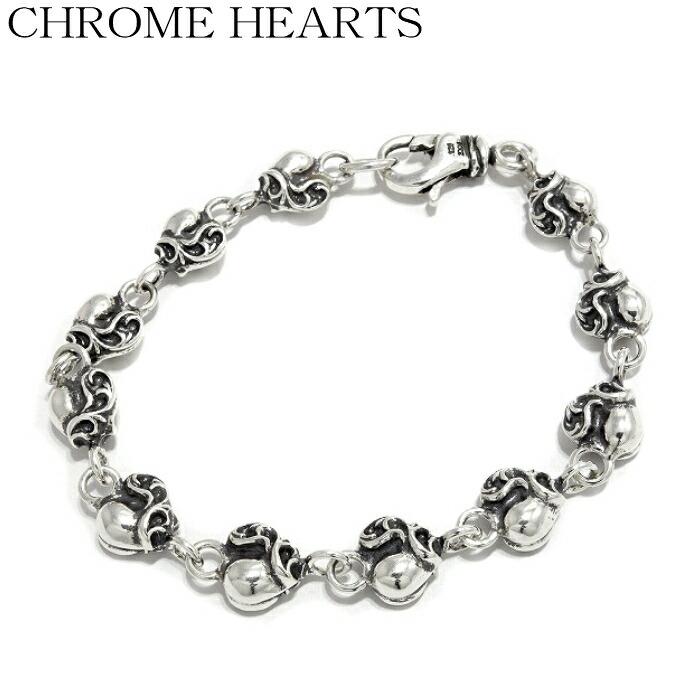 【CHROME HEARTS/クロムハーツ】Stack Charm HEART Link -11Link スタックチャーム ハートリンク ブレスレット