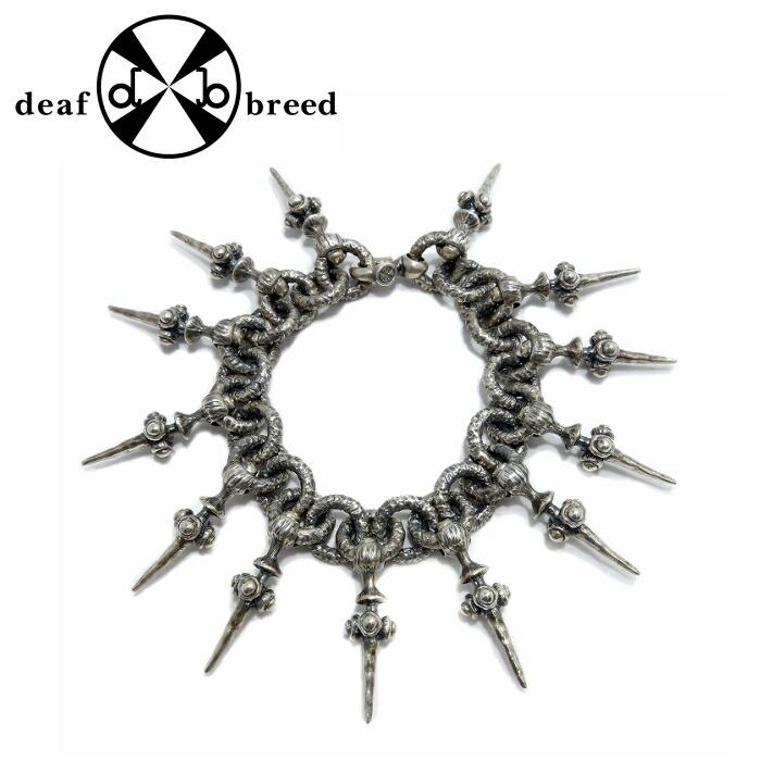 【deaf breed/デフブリード】B-3 ブレスレット メンズブレスレット