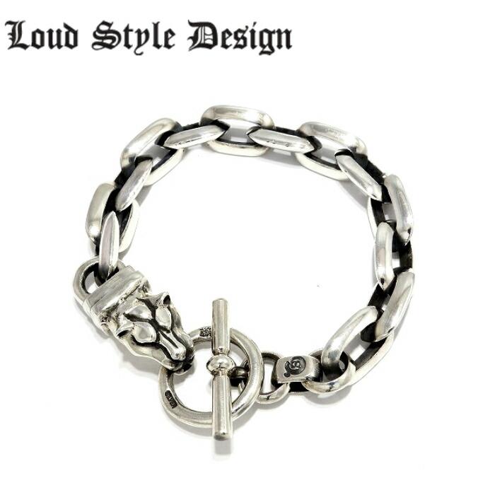 【Loud Style Design/ラウドスタイルデザイン】DOWN BRACELET LSB-001 LSD メンズアクセサリー シルバー925 Silver925 ブレスレット RAINDOG レインドッグ アニマル