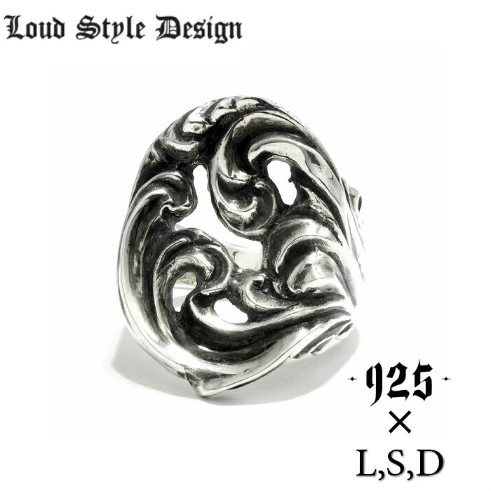 【Loud Style Design/ラウドスタイルデザイン】 2017SPEED SPECTER 925限定RING 925コラボレーション メンズアクセサリー シルバーアクセサリー シルバー925 LSD