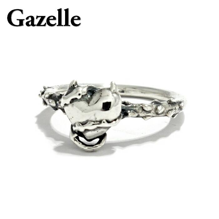 【Gazelle/ガゼル】デビルハート ピンキーリング デビル ハート イバラ 茨 棘 heart devil シルバー925