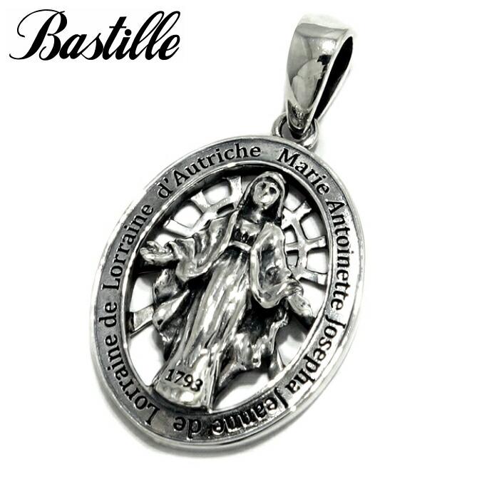 【Bastille/バスティーユ】ノートルダム ペンダント シルバー925 シルバー マリア ペンダント 聖母 コイン メダル ユニセックス