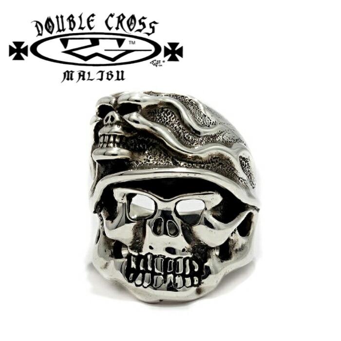 【TRAVIS WALKER/トラヴィスワーカー】Madness Helmet Skull Ring/ヘルメット スカル リング メンズ リング 指輪 メンズアクセサリー シルバー925