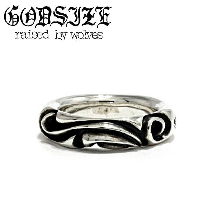 【GODSIZE/ゴッドサイズ】GREEKLOTUS RING シルバー リング メンズ SUGIZO 着用アクセサリー