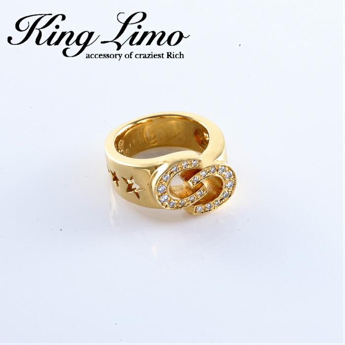 【King Limo/キングリモ】ダブルシューリング 馬蹄 アクセ ホースシュー シルバー silver925