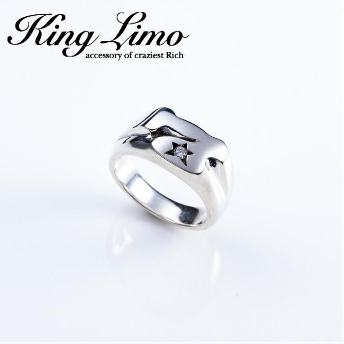 【King Limo/キングリモ】MICRO SEVEN RING/マイクロセブンリング シルバー 7 アクセ CZ 7 silver925