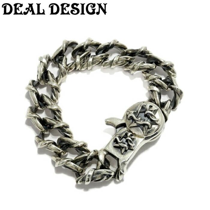 【DEAL DESIGN/ディールデザイン】ヘックスメルティングワイヤーブレス メンズアクセサリー シルバーアクセサリー Silver925 ブレスレット Bracelet 六芒星 シルバー925